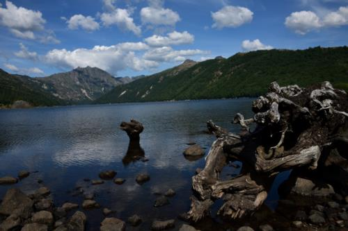 ColdWater lake, Gifford Pinchot National Forest