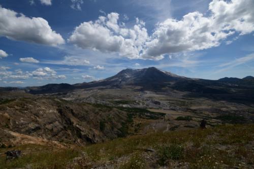 Beautiful Landscape of Mt. St. Rainier