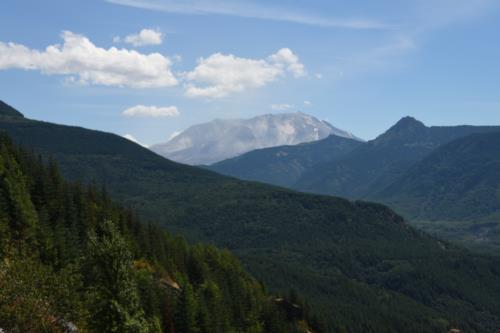 Mt. St. Helens Volcano, Landscape